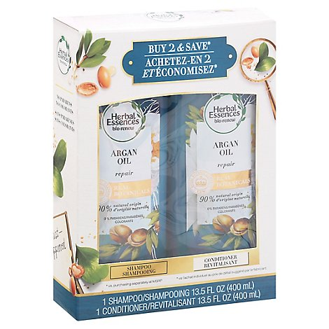 Herbal Essences Argan Oil Dual Pack - 2-13.5 Fl. Oz.