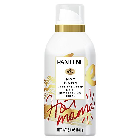 Pantene Heat Activated Refreshing Hair Spray - 5 OZ