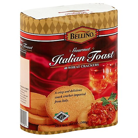 Bellino Italian Wheat Toast Cracker - 10.5 OZ