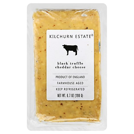 Kilchurn Estate Cheddar Truffle Black - 6.7 OZ