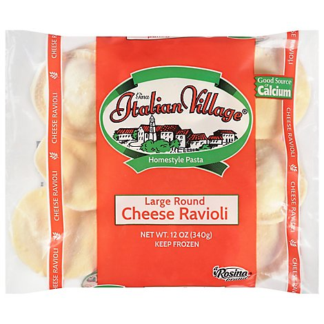 Gina Italian Village Cheese Ravioli - 12 OZ