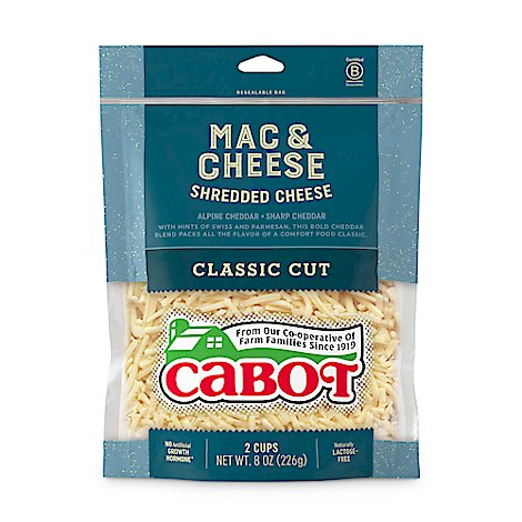 Cabot Creamery Mac And Cheese Shred - 8 OZ