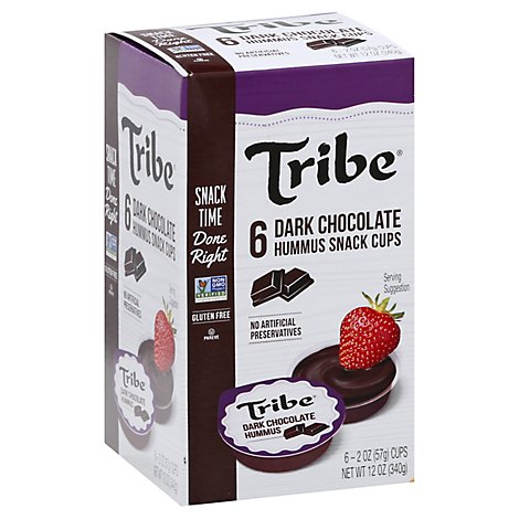 Tribe Dark Chocolate Snacker - 12 OZ