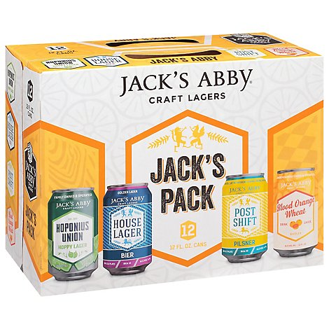 Jacks Abby Beer Pack Variety - 12-12 FZ