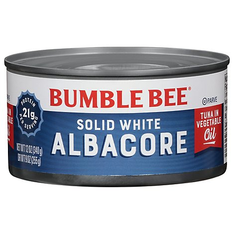 Bumble Bee Solid White Tuna In Oil - 12 OZ