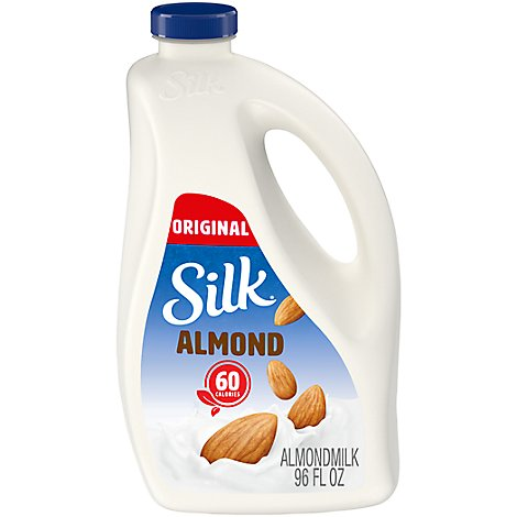 Silk Esl Almond 96oz Original - 96 FZ
