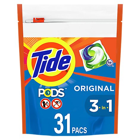 Tide PODS Laundry Detergent Liquid Original - 31 Count