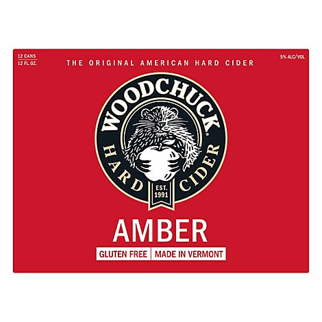 Woodchuck Amber In Cans - 12-12 FZ