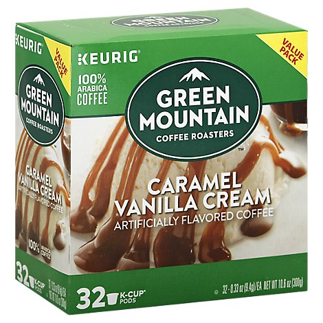 Green Mountain Carmel Vanilla K-cup - 32 CT