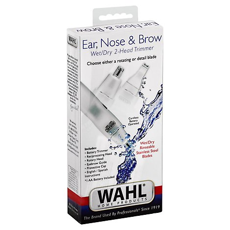 Wahl Dual Head Pers Trimmer - 1 EA