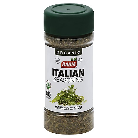 Badia Seasoning Italian Org - 0.75 OZ