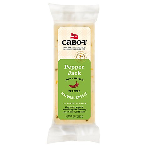 Cabot Pepper Jack Bar - 8 OZ