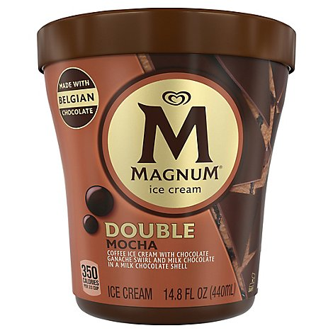 Magnum Mocha Milk Chocolate Ice Cream - 14.8 FZ