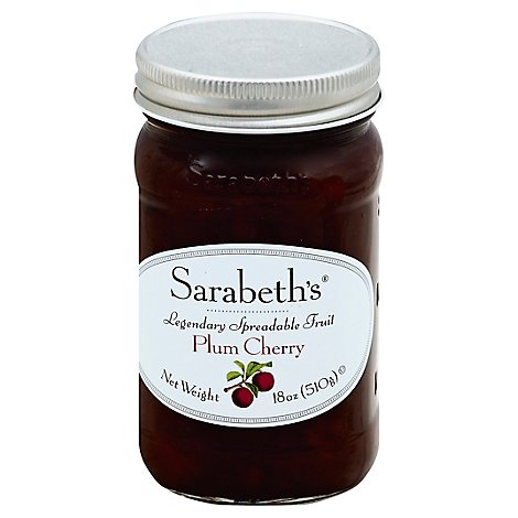Sarabeths Fruit Sprd Plum Cherry - 18 OZ