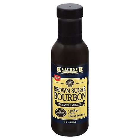 Kelchner Food Products Brown Sugar Bourbon Sauce - 12 FZ