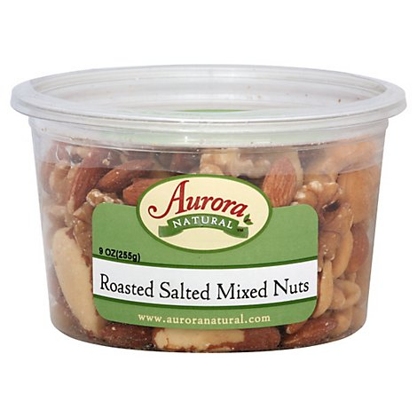 Aurora Mix Nuts Salted - 9 OZ