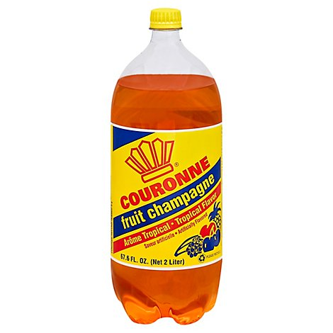 Couronne - Fruit Champagne Soda 8/2 Lt - 2 LT