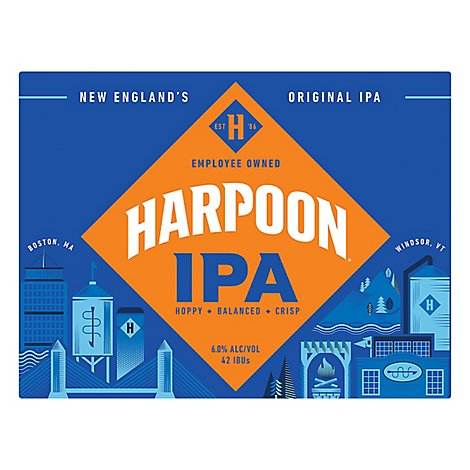 Harpoon Ale Pale India - 12-12 FZ