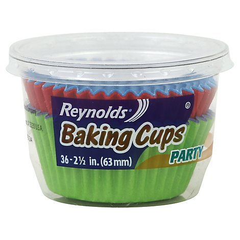 Reynolds Bakng Cup Party - 36 CT