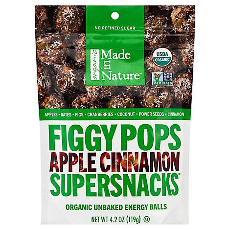 Made In Nature Fig Pops Apple Cnnmn Org - 4.2 OZ