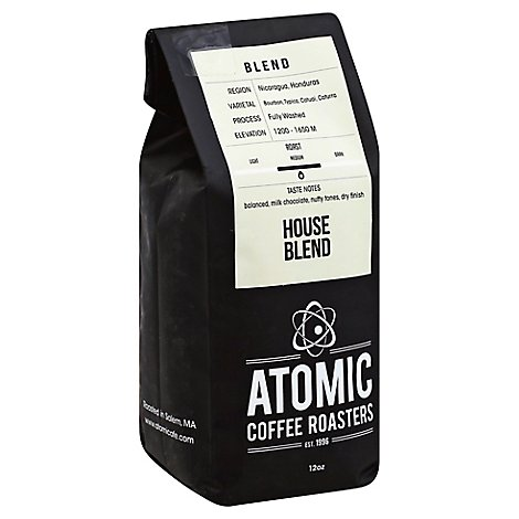 Atomic Coffee House Blend - 12 OZ