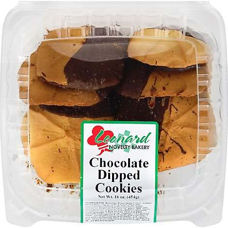 Chocolate Dipped Astd Leonards - 16 OZ