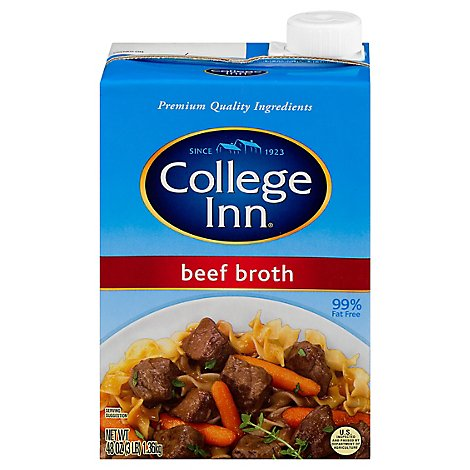 Col Inn  Beef Broth - 48 OZ