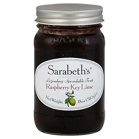 Sarabeths Fruit Sprd Rspbry Ky Lim - 18 OZ