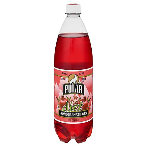 Polar Soda Diet Pomegranate Dry - 33.8 FZ
