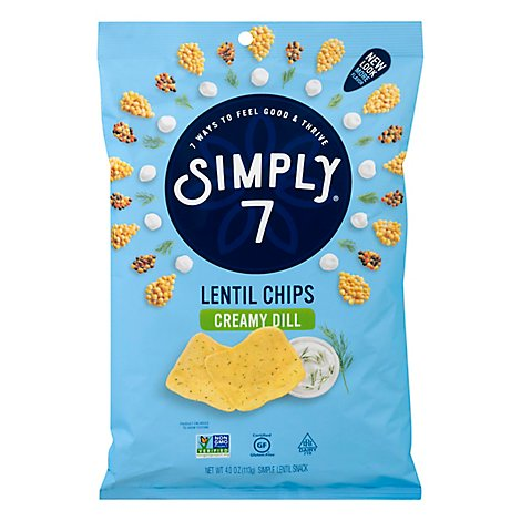 Simply 7 Chip Lentil Crmy Di - 4 OZ