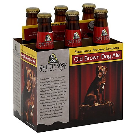 Smuttynose Ale Dog Old Brown In Bottles - 6-12 FZ