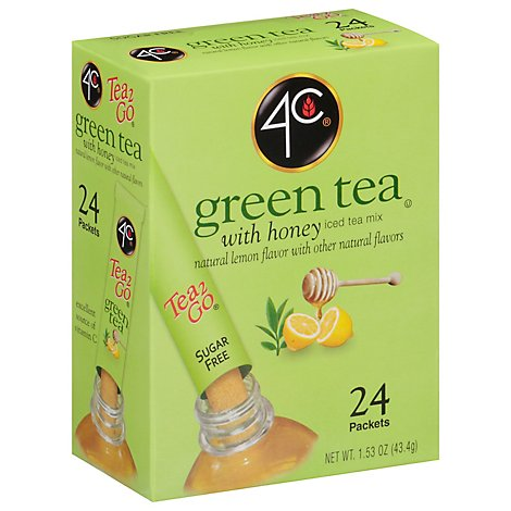 4c Grn Ice Tea Stick - 1.28 OZ
