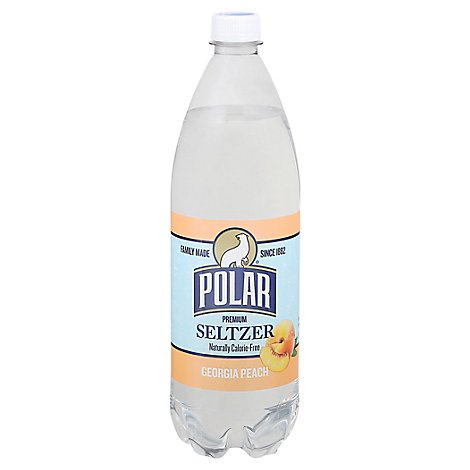 Polar Seltzer Peach Georgia - 33.8 FZ