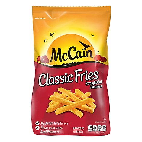 Mccains Fries Classic - 32 OZ