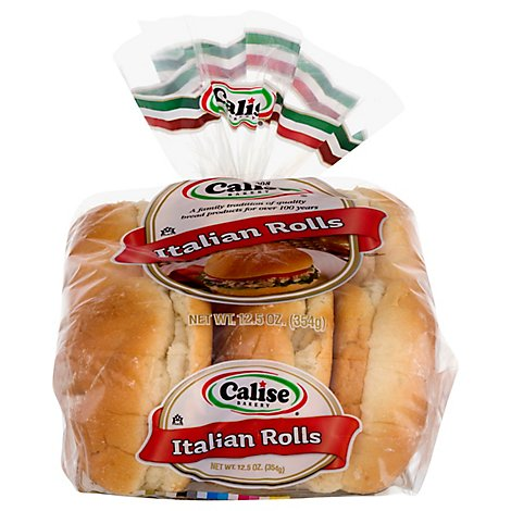 Calise Italian Rolls - 12.5 OZ