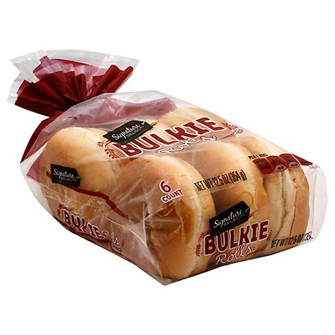 Signature Select Bulkie Deli Rolls - 12.5 OZ