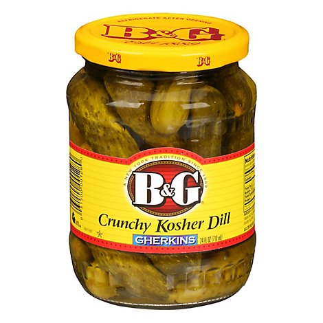B&g Dill Pickles - 24 FZ