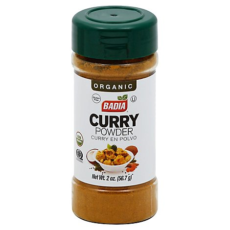 Badia Curry Powder Org - 2 OZ