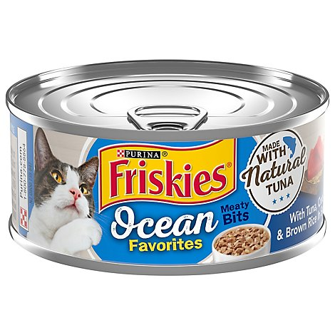 Purina Friskies Ocean Favorites Tuna & Crab Cat Food - 5.5 OZ
