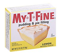My T Fine Lemon Pudding - 2.75 OZ