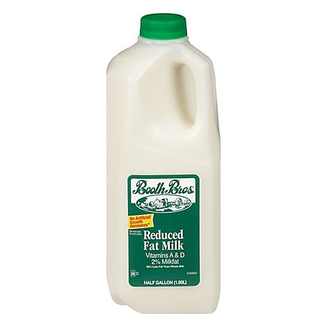 Booth Brothers Milk 2% Fat 64 Oz - 64 FZ