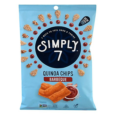 Simply 7 Quinoa Chips Cheddar - 3.5 OZ