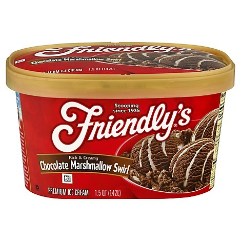 Friendly's Marshmallow Chocolate - 1.5 QT