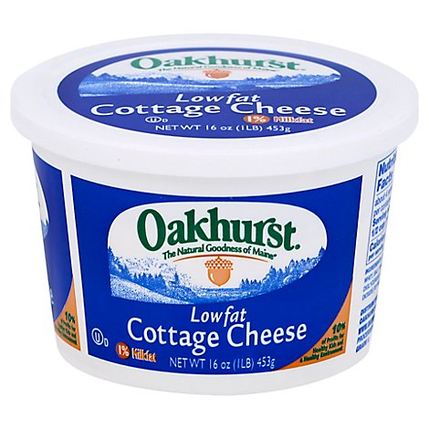 Oakhurst Plain Cottage Cheese Milk - 16 OZ