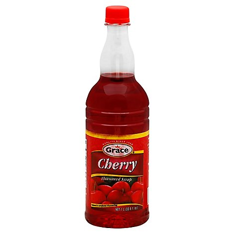 Grace Syrup Cherry - 33.9 OZ