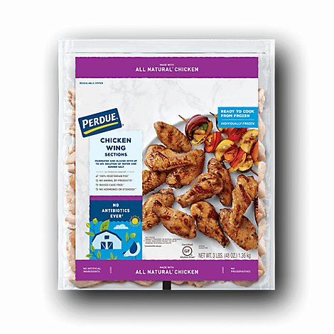 PERDUE Chicken Wings Ready To Cook - 48 Oz