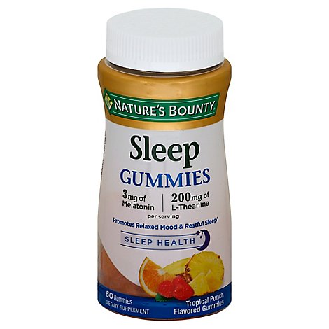 Natures Bounty Gummy Complex Sleep - 60 CT
