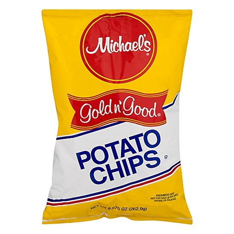 Michaels Gold N Good Regular Potato Chip - 9.27 OZ