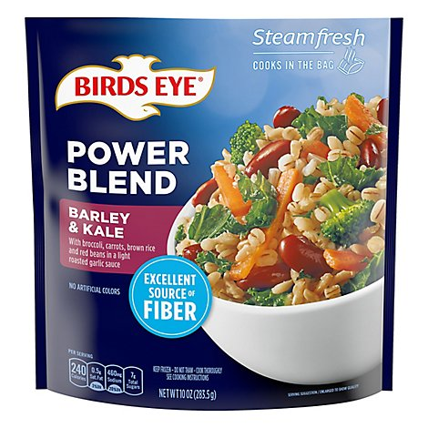 Birds Eye Steam Fresh Barley And Kale - 10 OZ