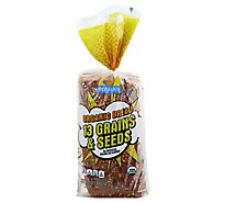 O Organics Bread 13 Grain & Seed - 20 OZ